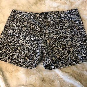 AEO midi shorts